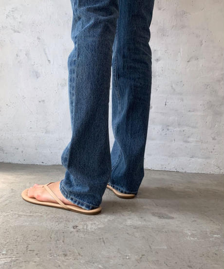 Over length straight DENIM