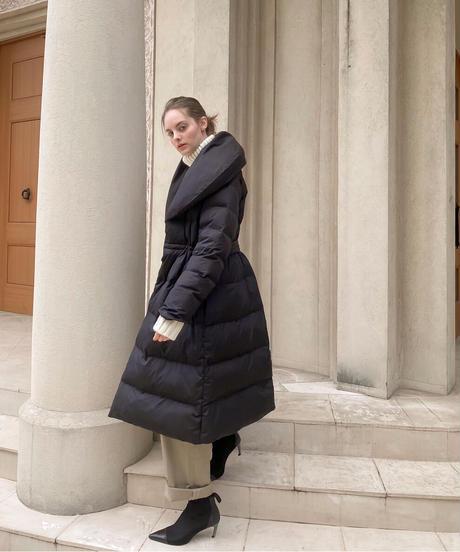 LIB JOIE  puffy  collar coat