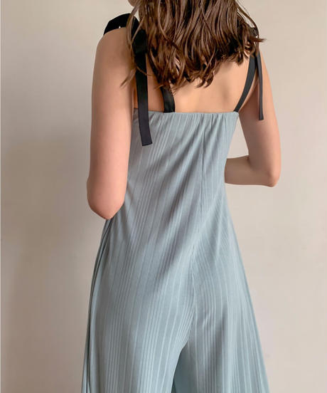 Shoulder ribbon rompers