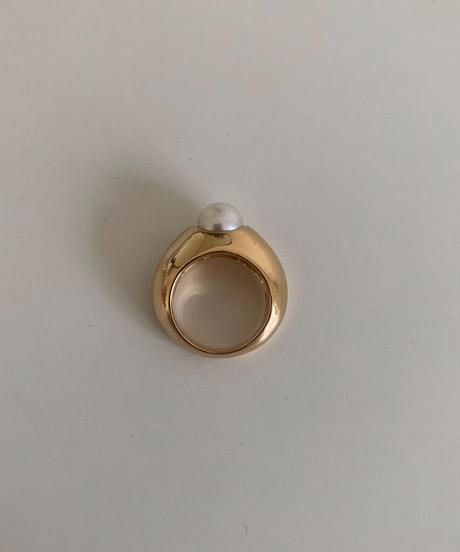 """Pearl pinky ring""""Mia"""""""