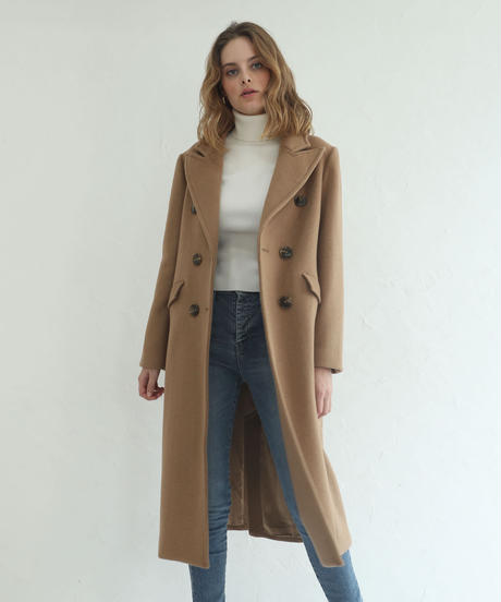 Double Chester Wool Coat