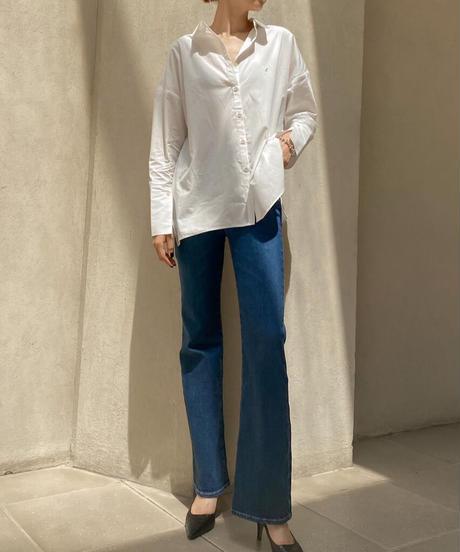 """【オンライン接客会限定】""""L""""mark white shirts"""