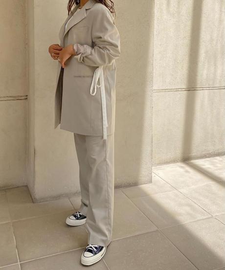 Straight suits slacks