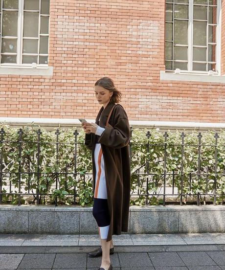 color block knit dress