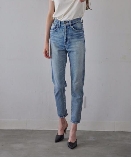 Tapered High-waist Denim
