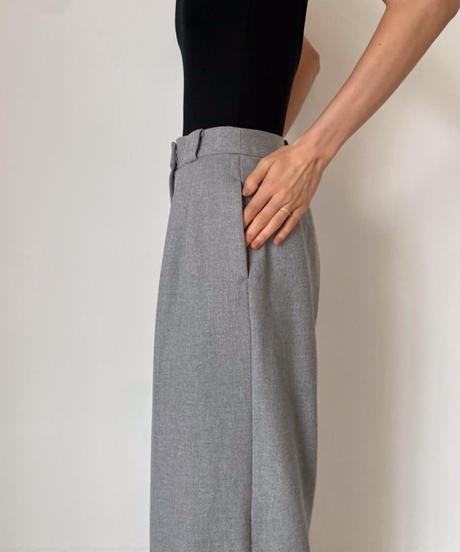 Tack wide pants