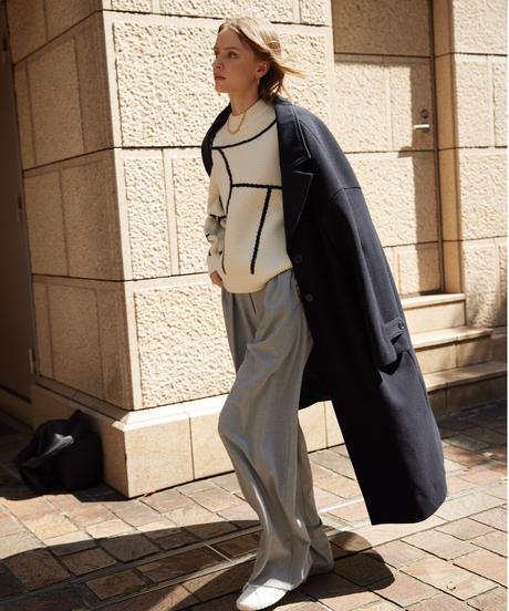 Feminity chester coat