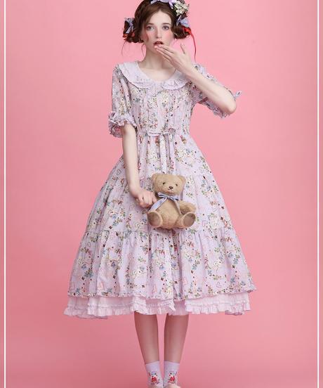 Tea Party Rabbit ワンピース ネット限定色(Limit Color)