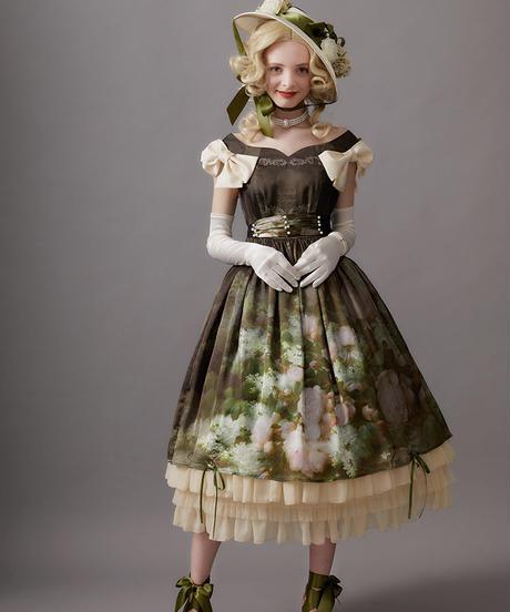 【Mサイズ】Raoul bouquetジャンパースカートⅠ