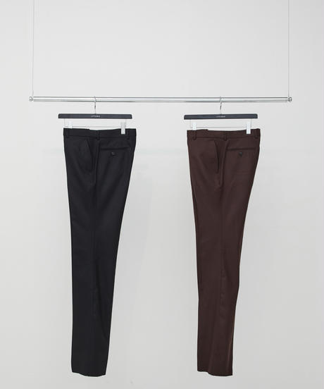 Flannel Flare Trousers