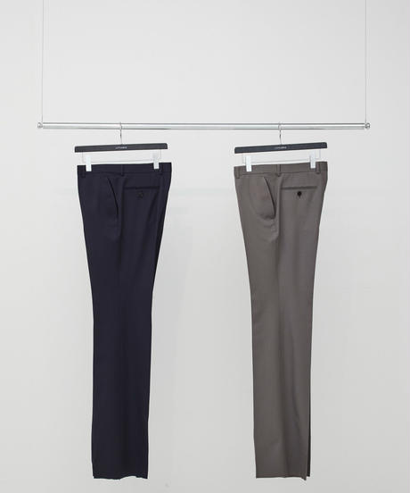 Twill Flare Trousers