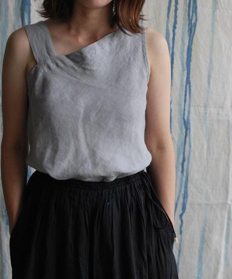 linen one shoulder