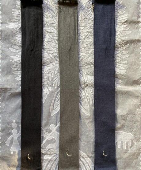 cotton silk moon leggings  SILVER