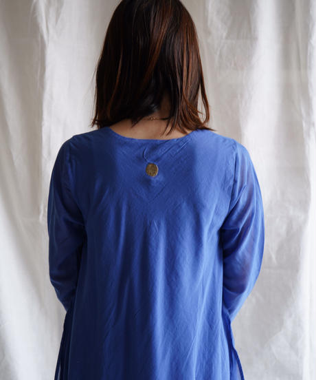 cotton flow 7/S OP  BLUE