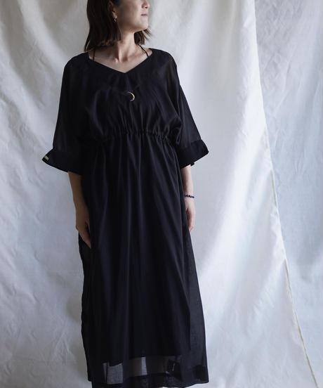 cotton string OP BLACK