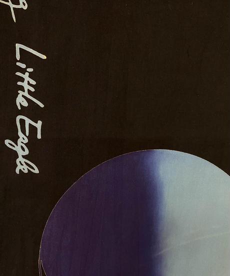 moon TENUGUI・indigo moon