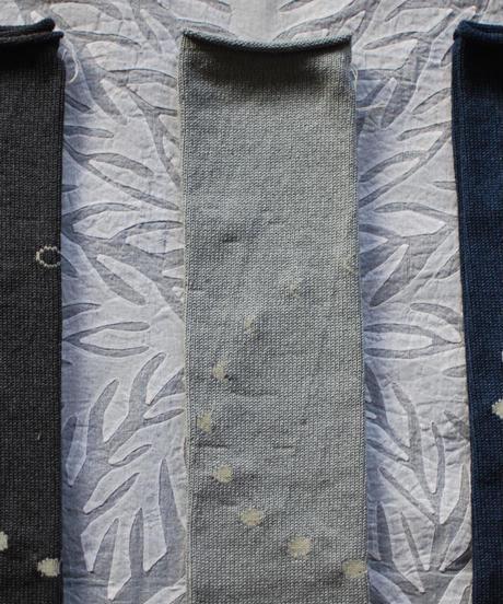 moon circle  tabi socks  SILVER GRAY