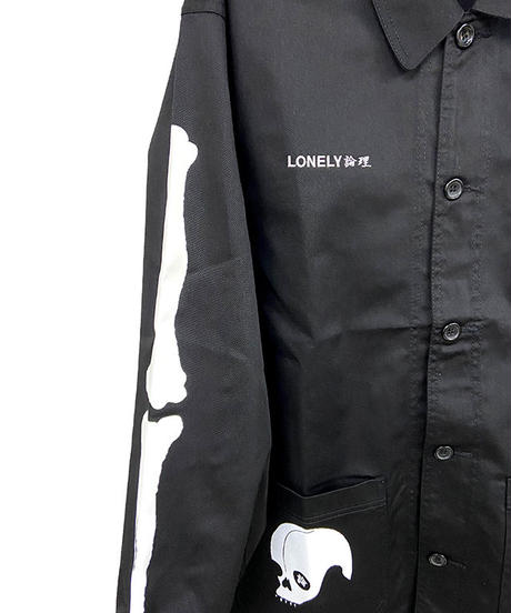 #13 LONELY論理 JAPONISM SYARE KOUBE TWILL COVERALL JKT