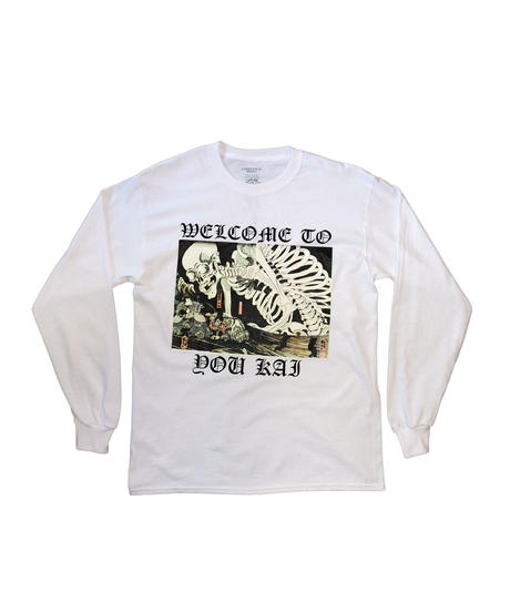 "LONELY BEIKOKU  ""Welcome To Youkai"" LONG SLEEVE"