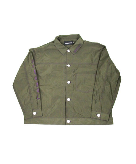 #15LONELY論理 EXCLUSIVE NYLON 90s LOOSE SILHOUETTE G-JUMPER