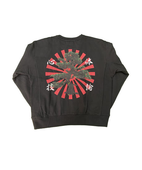 "LONELY論理 GENTEI ""心技体論"" CREW NECK SWEAT"