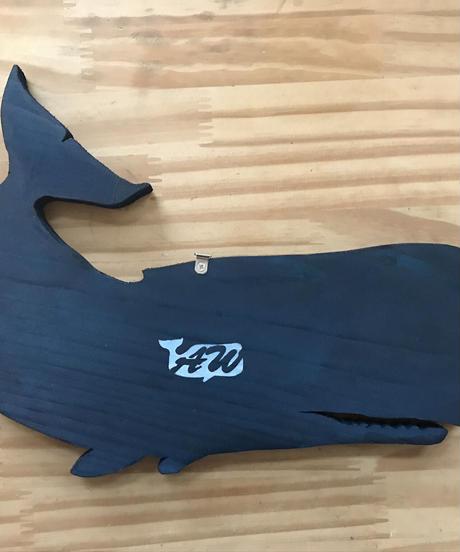 マッコウクジラの表札 (大)