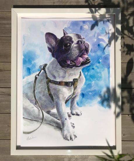 ペットポートレート 肖像画 A3