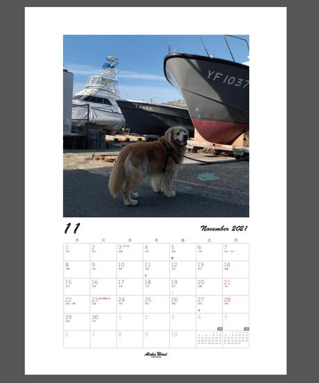 4月始まり オーダー オリジナル2021カレンダー