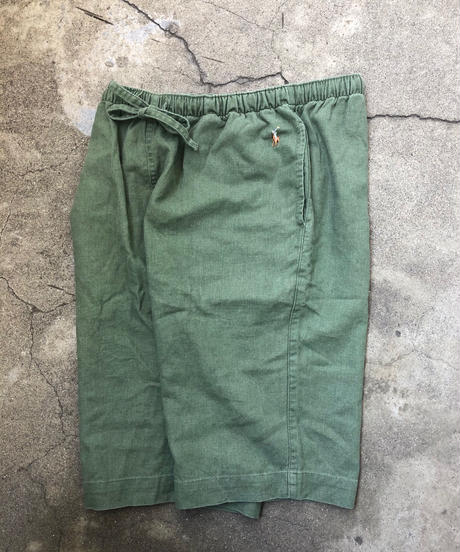 polo  Ralph Lauren  linen×cotton shorts