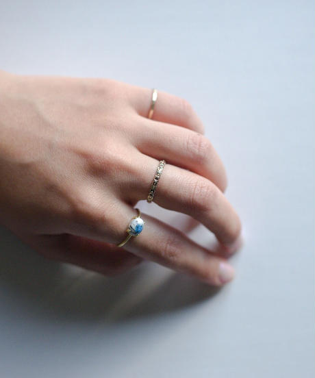 jemstone ring - アズライト