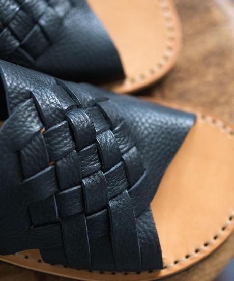 Fracap / Vegitable Leather - NERO(BLACK)