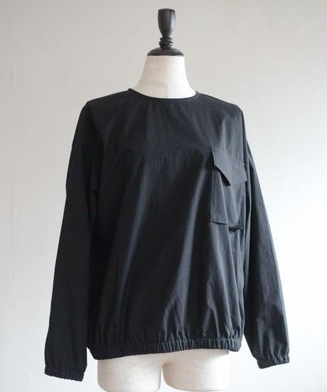 KaIKI  /   タイプライターバルーンポケットプルオーバー  - BLACK