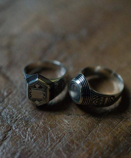 <新作> Touareg Silver Ring /14
