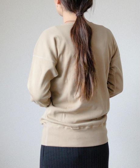 Olde Homesteader / CREW NECK SWEAT SHIRT -KHAKI