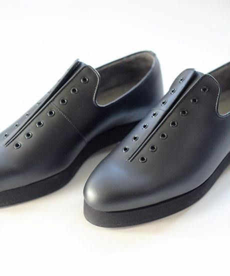 <再入荷>ISHMM /  7HOLE SHOES - BLACK -Men's