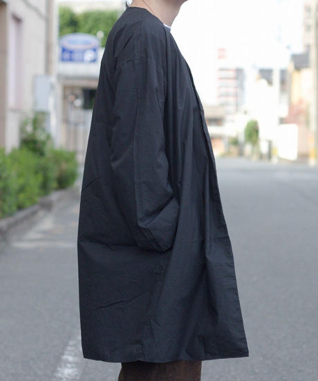MUYA / Livery coat - BLACK