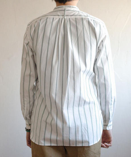 Handwerker /  collerless shirt - Stripe