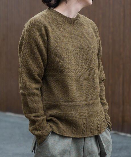 ASEEDONCLOUD / moguragumi knit - Khaki