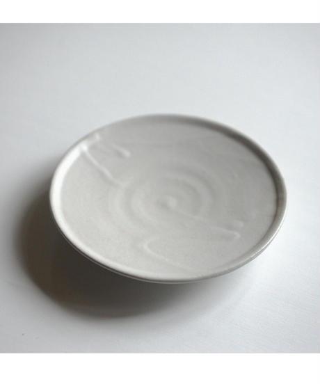 馬場勝文 / 6寸皿 - 土マット