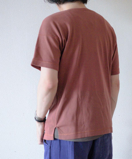<再入荷> Olde Homesteader / CREW NECK SHORT SLEEVE- ROSEWOOD