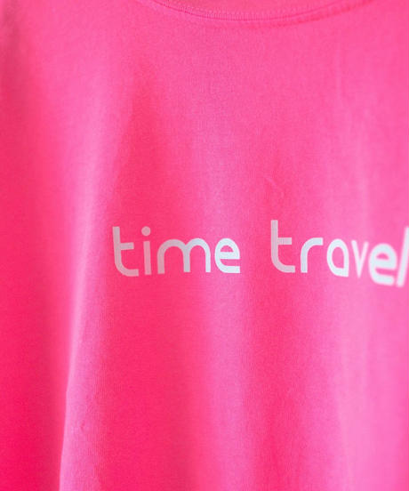 ajouter Original Tee Part3/ time travel / ネオンピンク