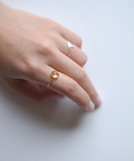 jemstone ring - シトリン