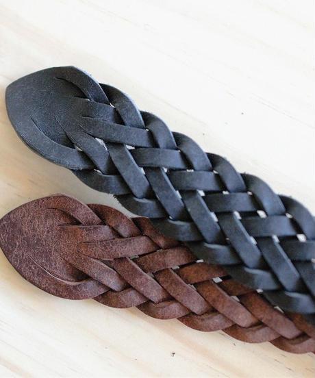 Leather mesh Belt (2.4cm)