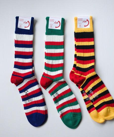 Corgi / Socks - FLAG COLOUR  STRAIPE