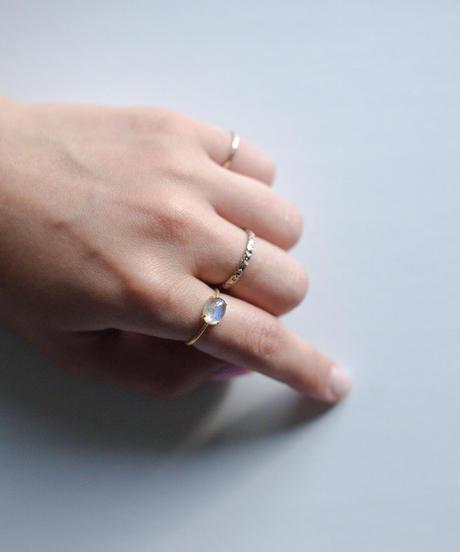jemstone ring - ラブラドライト