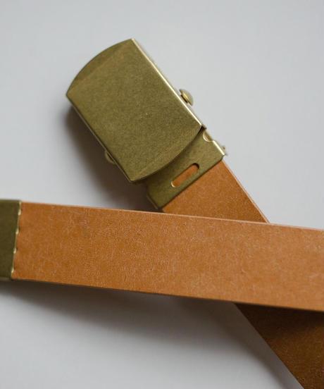 <全4色> Leather Belt - ガチャベルト