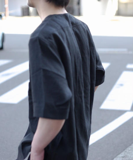 Handwerker /  short sleeve shirt - Black