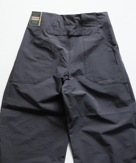 Handwerker /  wide trousers - コンパクトクロス - Dark grey