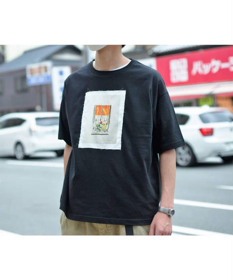 <ボックスシルエット各2色展開> Nanako Oka ×  ajouter / コラボT