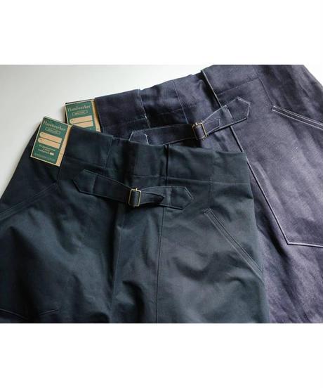 Handwerker /  wide trousers - 備前壱号 - チャコール